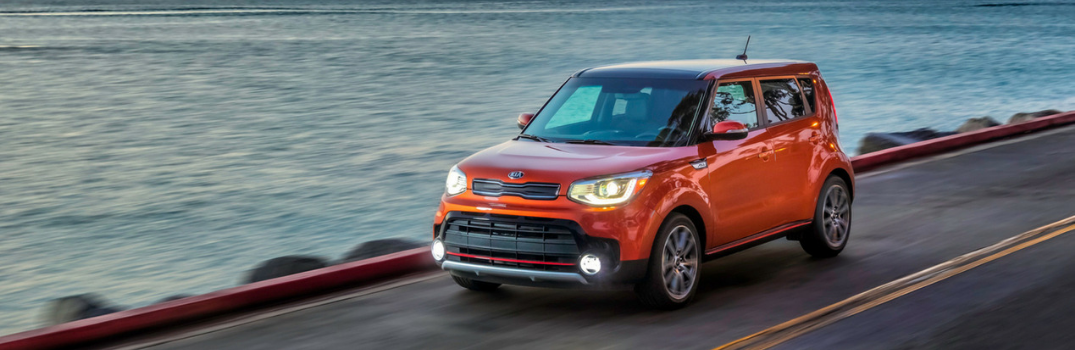 2019 Kia Soul parked outside