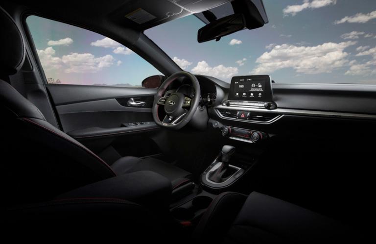 2020 Kia Forte interior front view