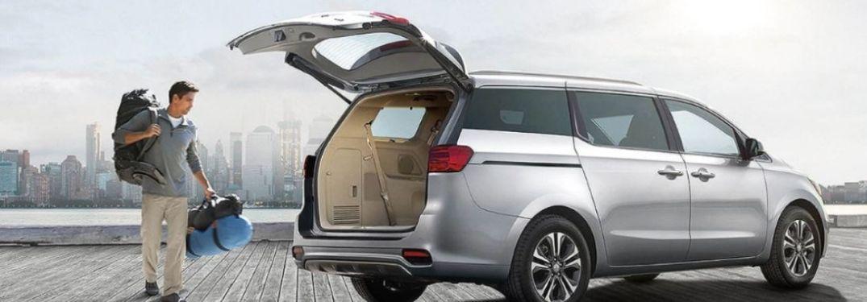 2021 Kia Sedona parked cargo view