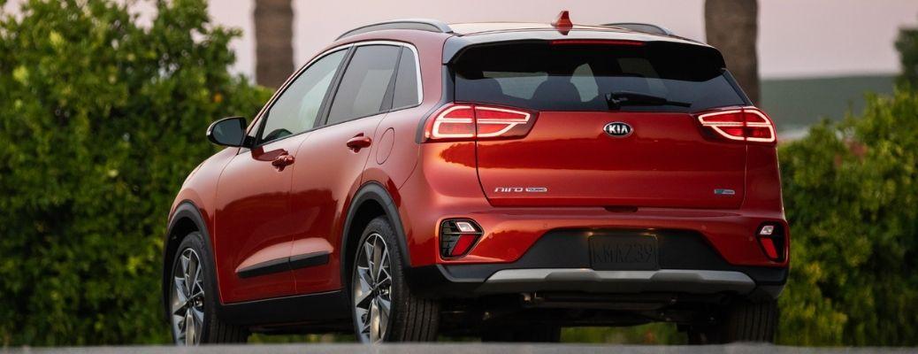 2021 Kia Niro parked rear view