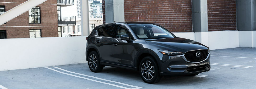 blacked out 2017 Mazda CX-5