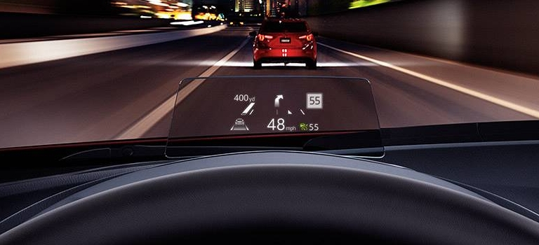 Mazda active driving display