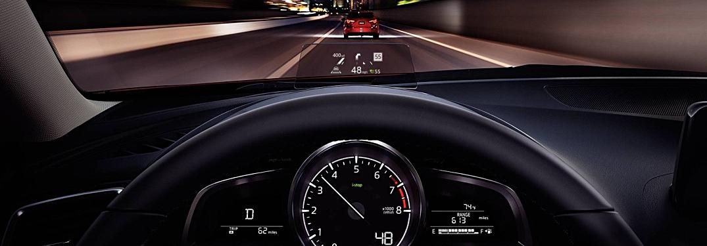 2018 Mazda3 Grand Touring Active Driving Display