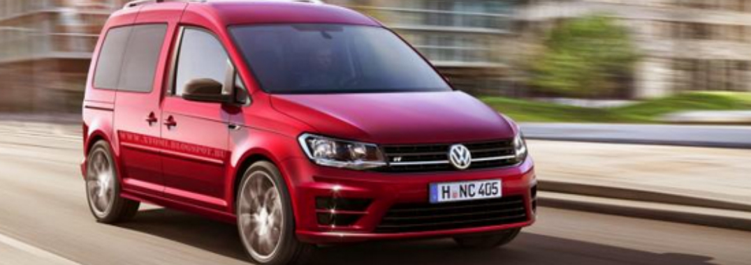 Volkswagen Unveils Next Generation Caddy Van