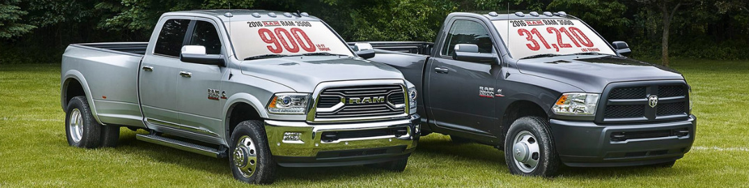 New Ram 3500 HD Offers 900 lb-ft of Torque for 2016