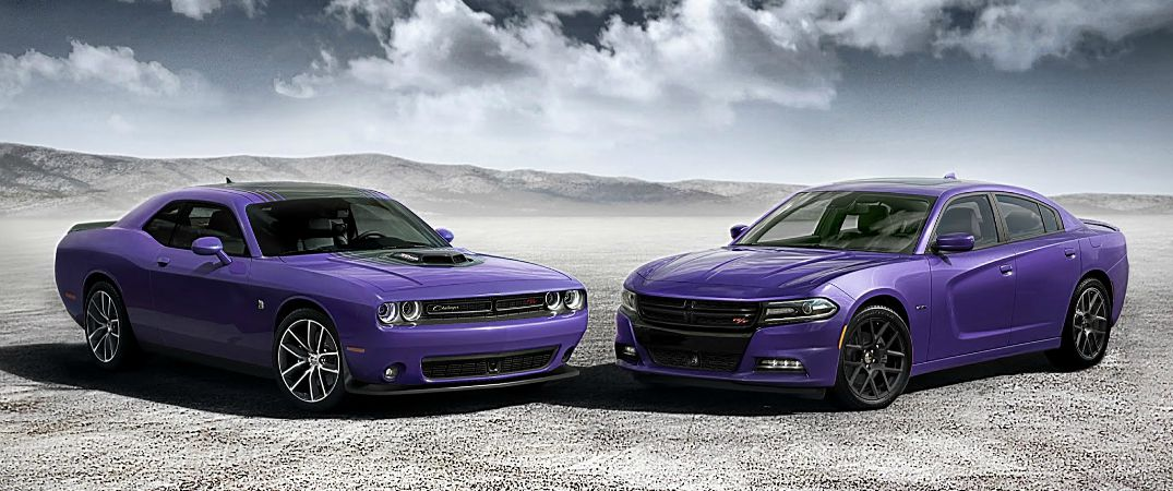 2016 Dodge Challenger new color options