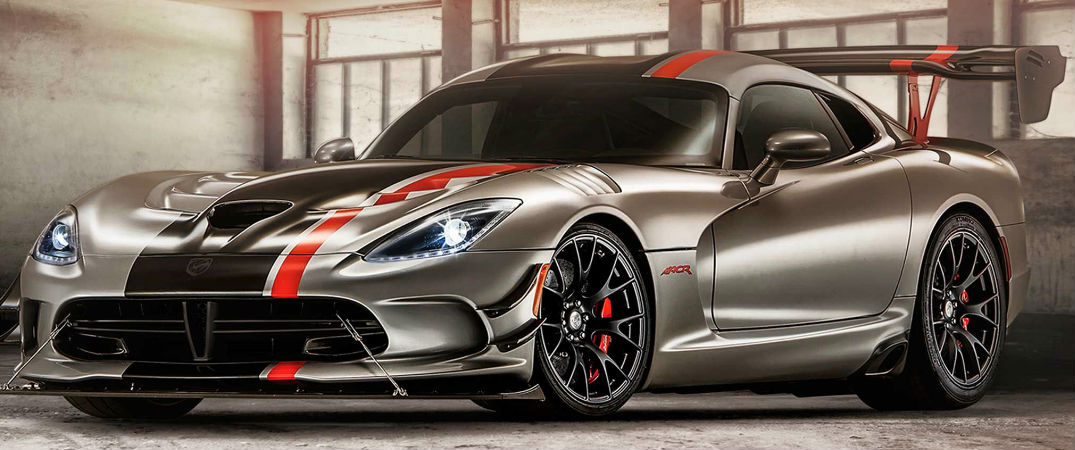 The new Dodge Viper boasts new levels of horsepower