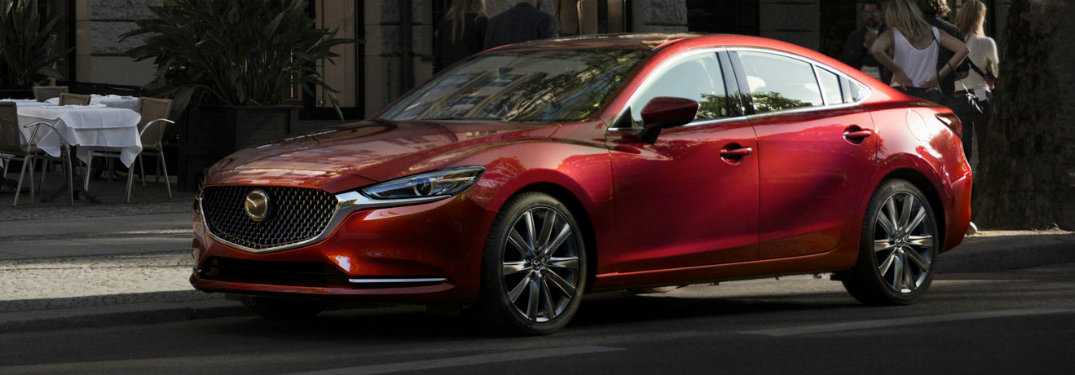 2018 Mazda6 red exterior front