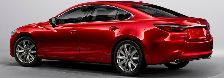 2018 Mazda6 back exterior red