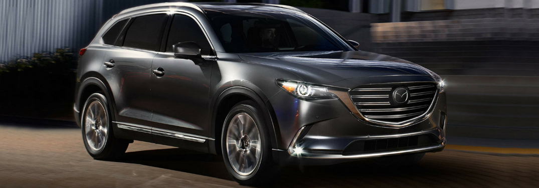 full view of 2018 cx-9 driving