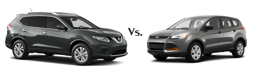How Does The 2014 Nissan Rogue Stack Up Against The Ford Escape?