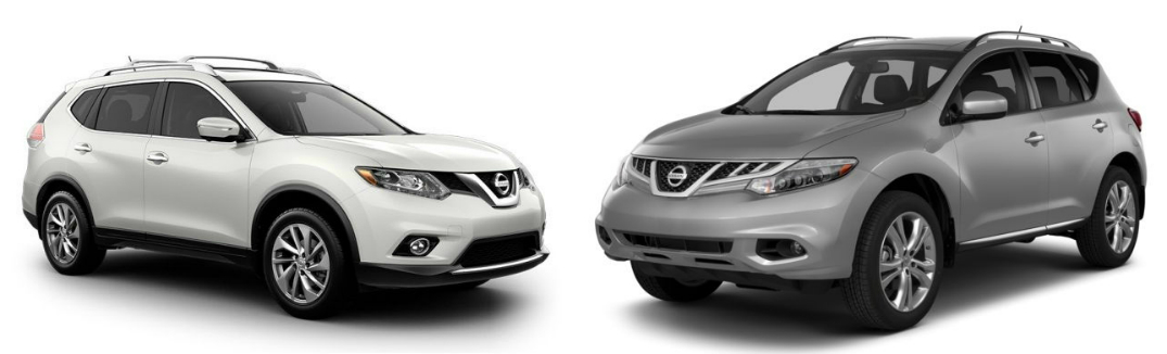 Comparing The Rogue And Murano