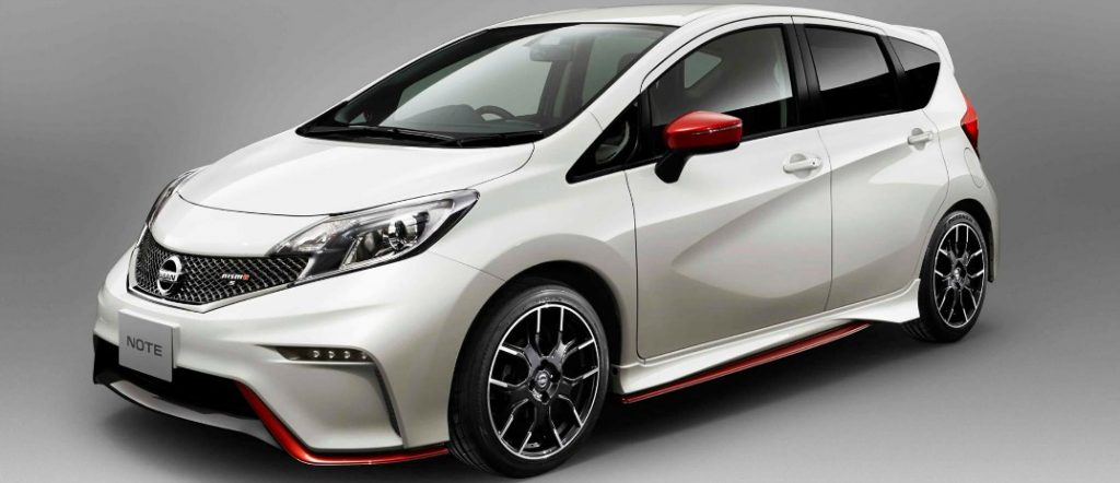 Tease Yourself With The New Nissan Versa Note Nismo