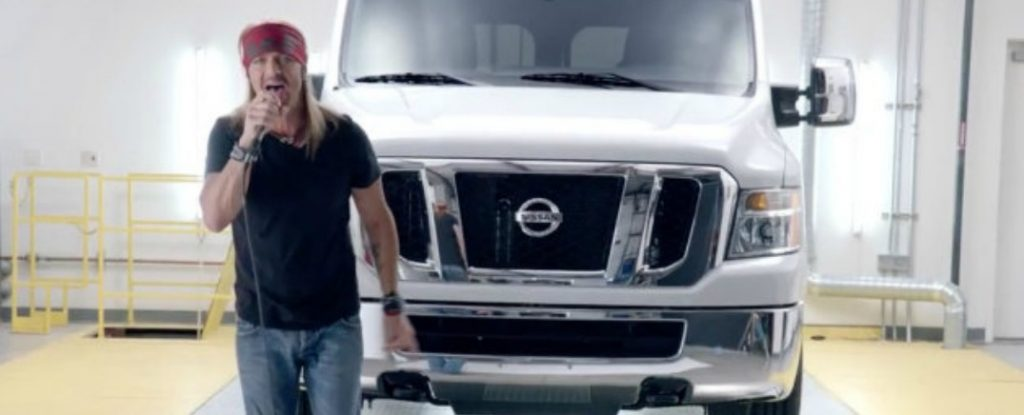 Is Bret Michaels Getting Nissan Nv Ous Robbins Nissan Blog