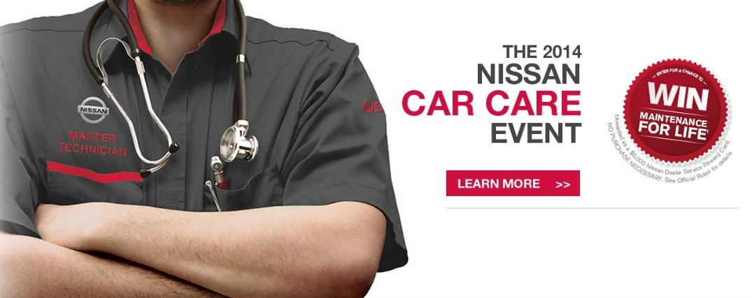 Nissan Car Care Event