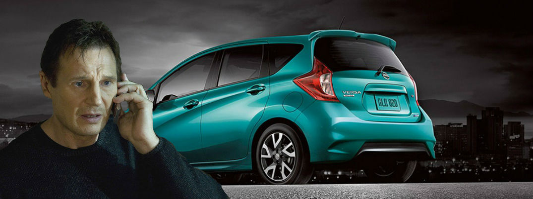 Liam Neeson Nissan Versa Note Houston TX