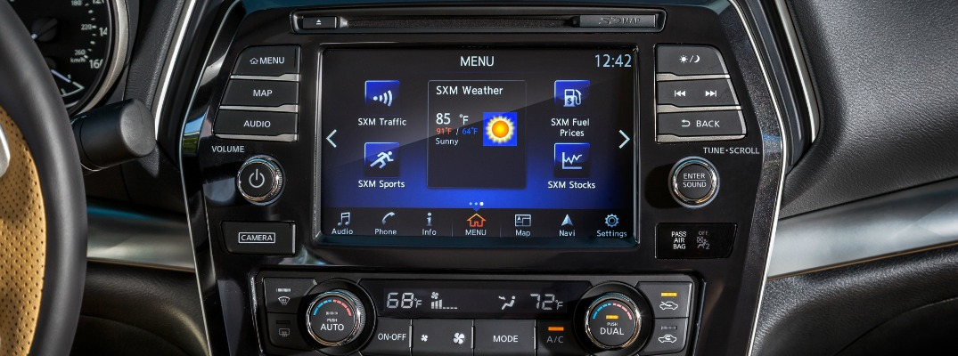 NissanConnect Services powered by SiriusXM
