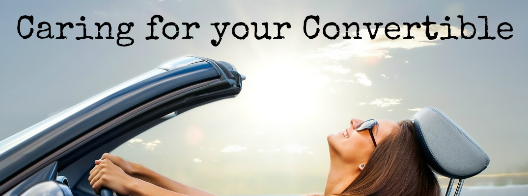 caring for your convertible houston tx