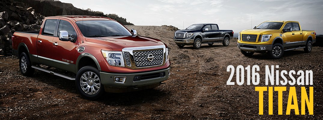 2016 Nissan Titan Engine Options