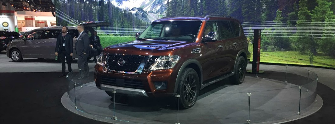 2017 Nissan Armada Revealed at Chicago Auto Show