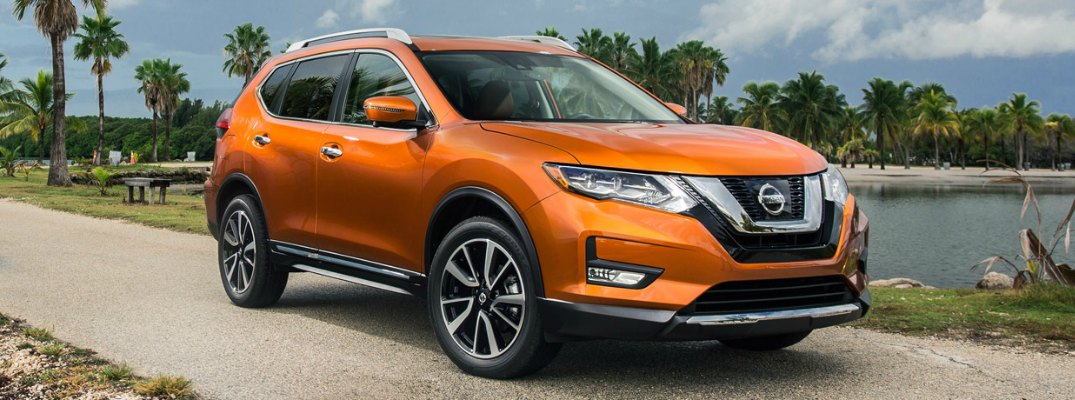 2017 Nissan Rogue Safety Shield Technology