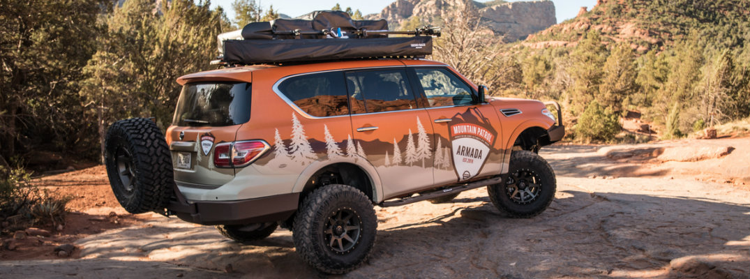 "What is the Nissan Armada ""Mountain Patrol"" vehicle?"