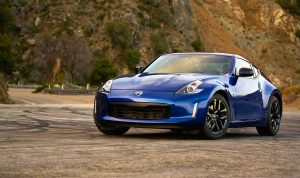 Following major enhancements for the 2018 model year – including a revised exterior featuring dark headlight treatment, dark tinted rear combination lights, a blackout rear lower fascia and redesigned 19-inch aluminum-alloy wheel design – Nissan's iconic 370Z Coupe enters 2019 with two new color themes for the 370Z Heritage Edition, standard auto-dimming rearview mirror with RearView Monitor, and the combining of the previous Touring and Sport Tech trim levels into a new Sport Touring grade.