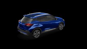 2018 Nissan KICKS in Deep Blue Pearl