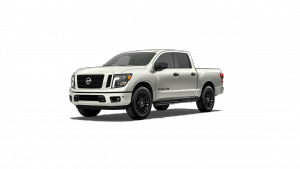 2018 Nissan Titan Midnight Edition in Glacier White
