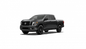2018 Nissan Titan Midnight Edition in Gun Metallic
