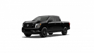 2018 Nissan Titan Midnight Edition in Magnetic Black
