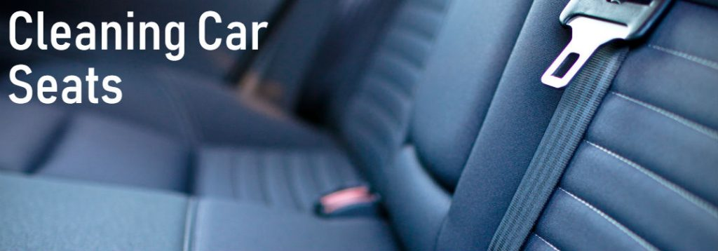 Clean Car Seats with Household Products