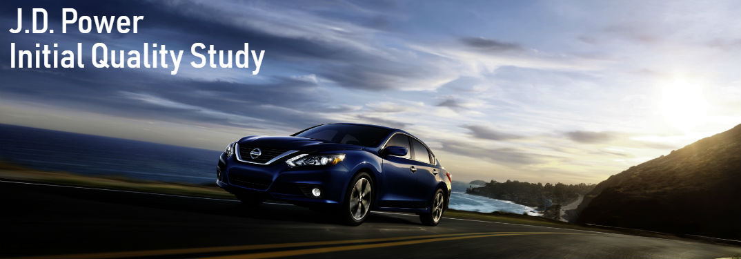 Nissan earns high ratings from JD Power Initial Quality Study