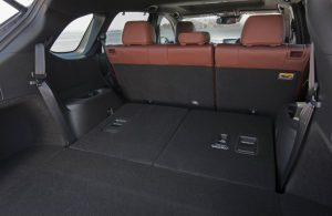 seats folded down inside mazda cx-9