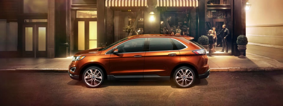 2015 Ford Edge Sport technology features