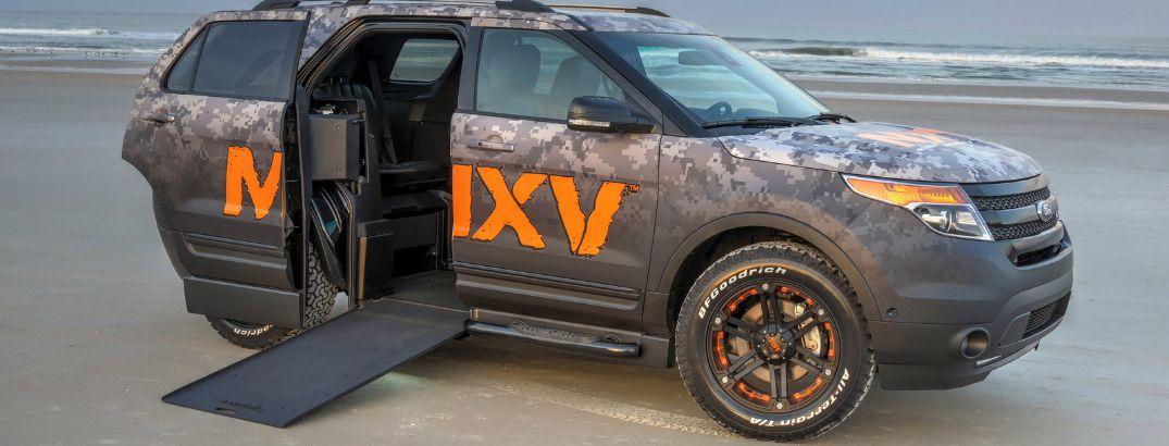 Finally, a wheelchair accessible SUV
