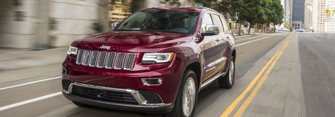Jeep Grand Cherokee Wins Among Active Lifestyle Vehicles