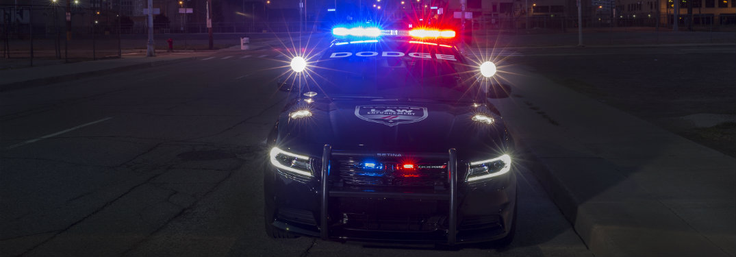 2016 Dodge Charger Pursuit vehicle enhancements
