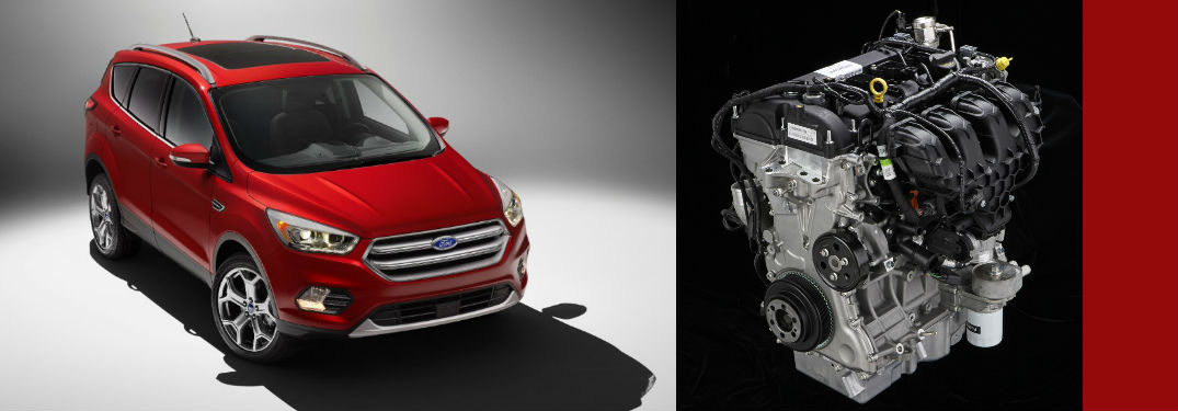 2017 Ford Escape Powertrain