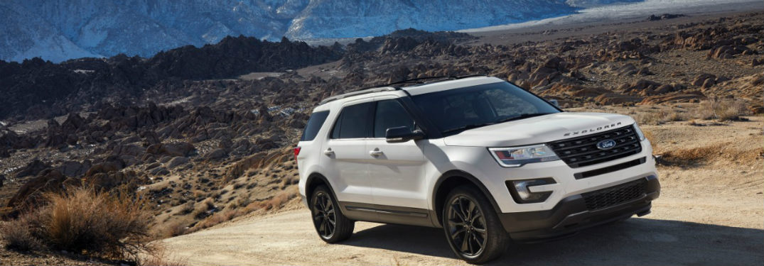 The 2017 Explorer Gets XLT Sport Appearance Package!