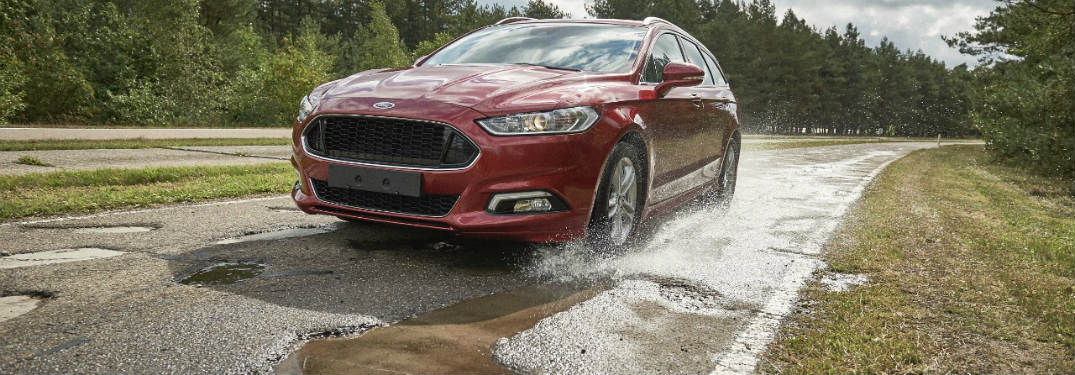2017 Ford Fusion V6 Sport Pothole Mitigation