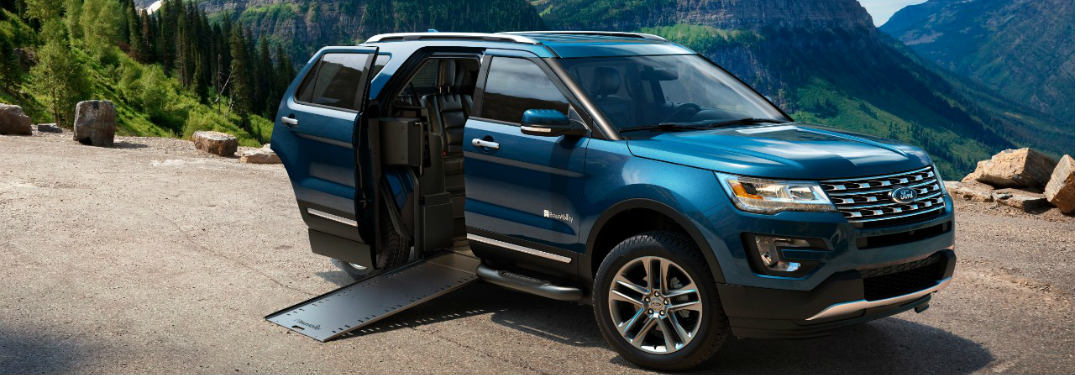 Ford Explorer BraunAbility MXV Wheelchair Accessible SUV