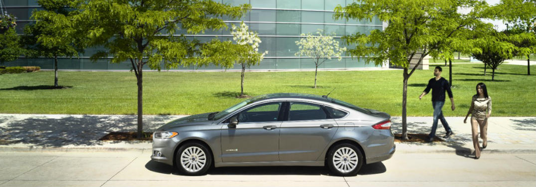 2016 Ford Fusion Hybrid On Best Cars for the Money List