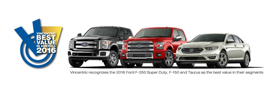 Ford Wins Vincentric Best Value Award for Truck Brand