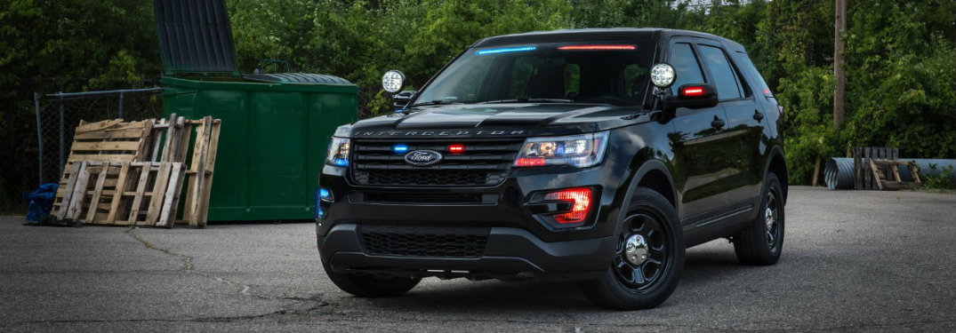Ford Interceptor Utility adds to its stealthy appearance