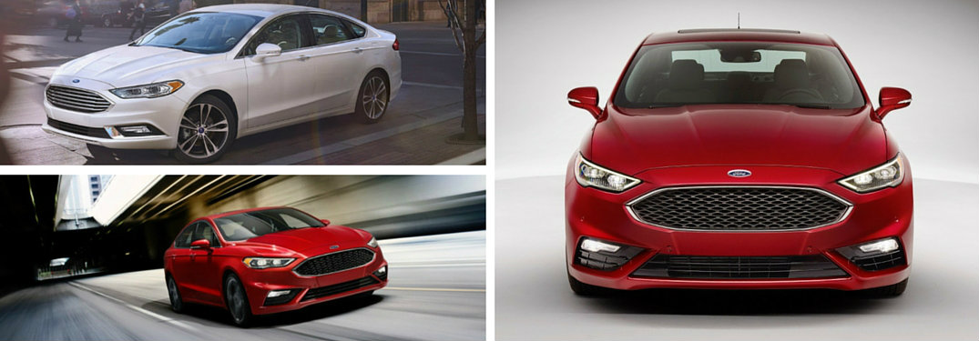 2017 Ford Fusion IIHS crash test scores