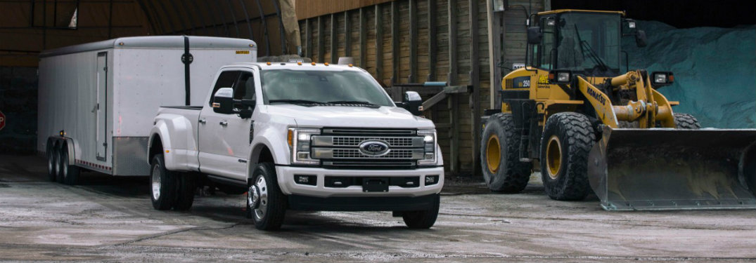 2017 Ford Super Duty easy-to-clean vinyl flooring availability