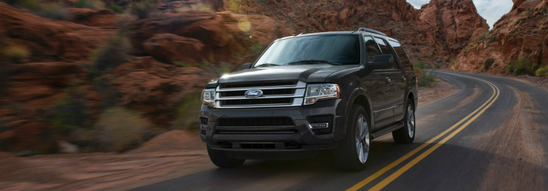 2017 Ford Expedition storage capacity