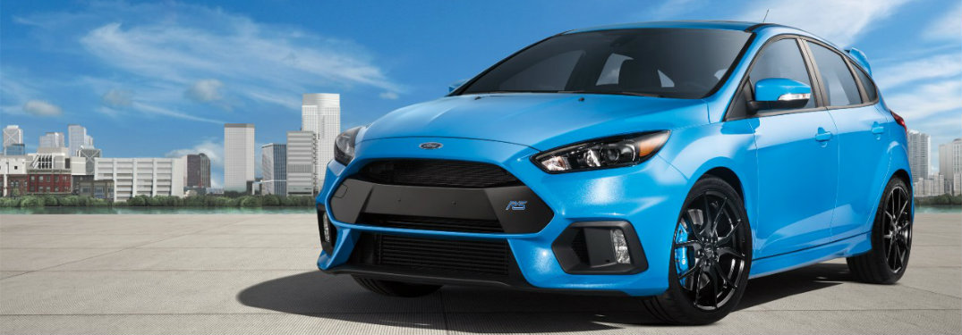 2017 Ford Focus RS all-wheel drive performance