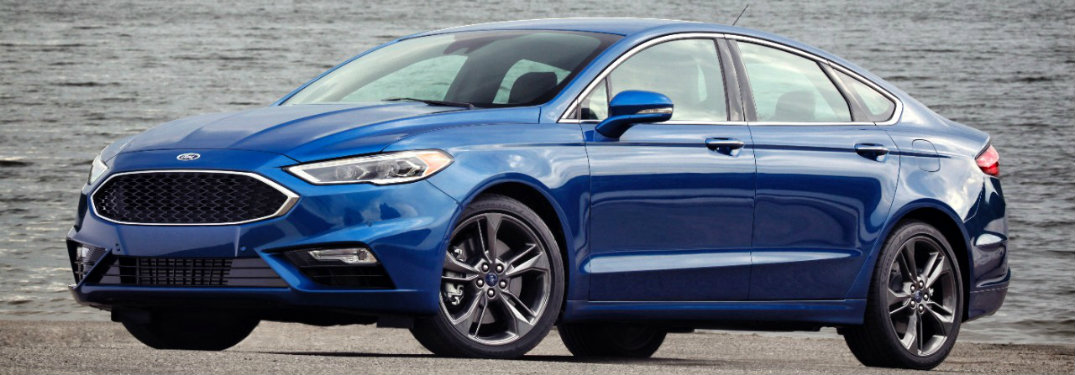 2017 Ford Fusion V6 Sport offers the ultimate in sedan performance